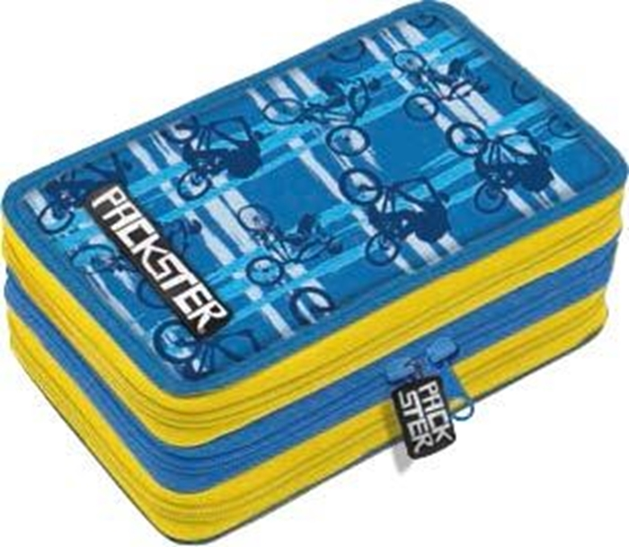 Picture of PACKSTER BMX triple Filled Pencil Case