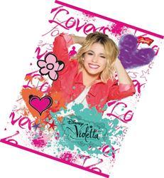 Picture of Violetta bilježnica A4 - kocke