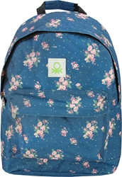 Picture of BENETTON FLOWER backpack teen 30x13x42 cm