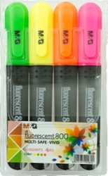 Picture of M&G FLUO MARKER Fluorescent 880 – Pack 4 PCs