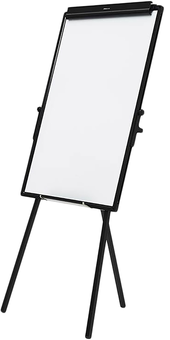 Slika od Bijela ploča na stalku 60x90cm