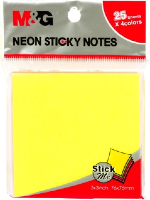 Slika od Samoljepljivi blokić NEON - 7,6x7,6cm