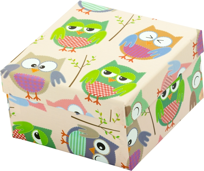 Slika od Poklon kutija Sova L