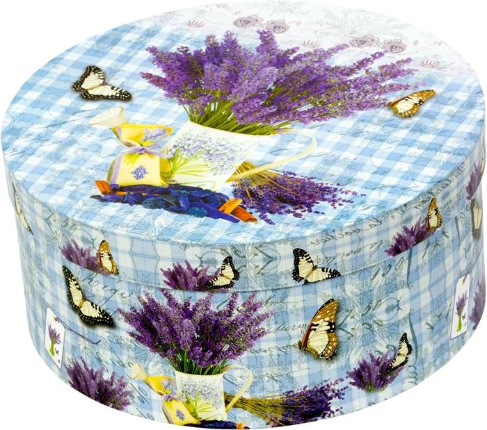 Slika od Poklon kutija Karo Lavanda L