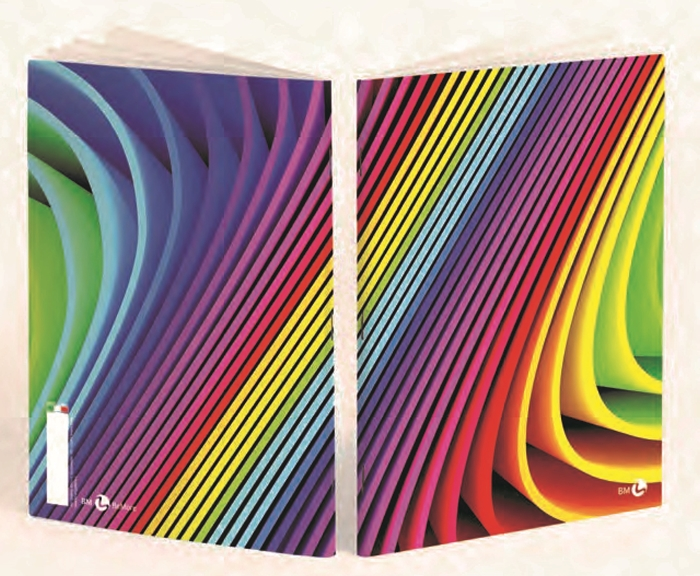 Picture of Bilježnica BEmore arcobaleno - crte