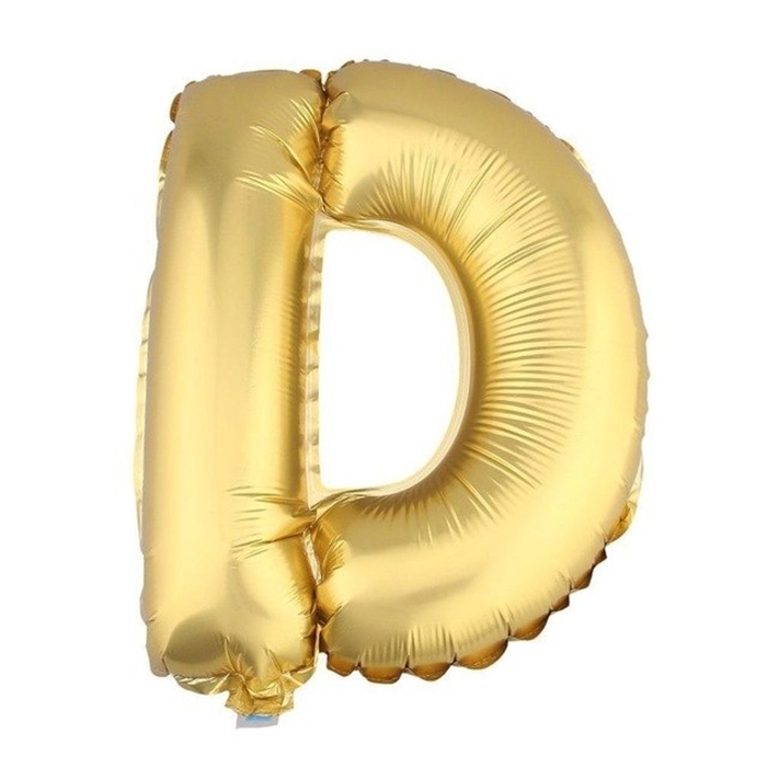 Slika od Folijski balon slovo D