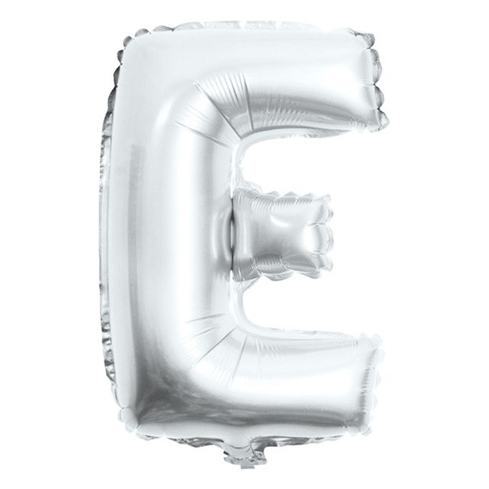 Picture of Folijski balon slovo E