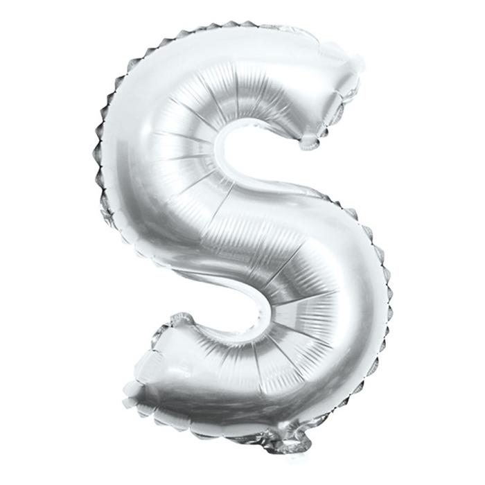 Picture of Folijski balon slovo S