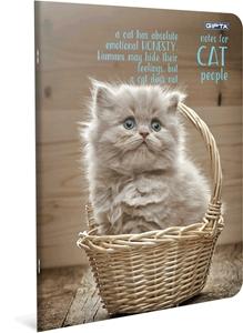 Picture of Bilježnica A4 Cat kocke
