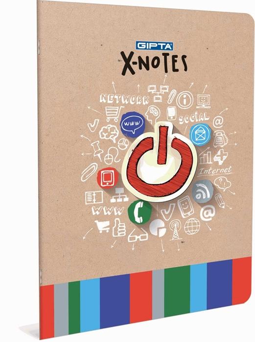 Slika od Bilježnica A4 X-notes crte