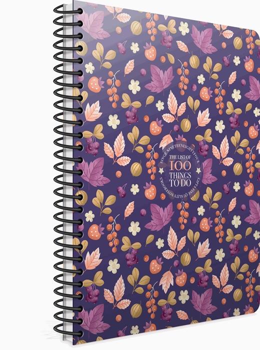 Slika od Spiralna bilježnica100 things crte
