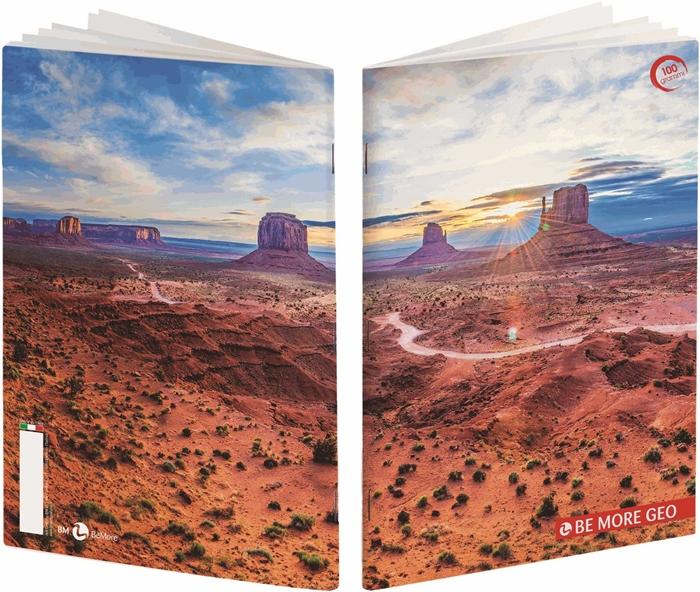Slika od Bilježnica BEmore geo - kocke