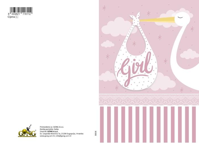 Slika od Čestitka - Girl