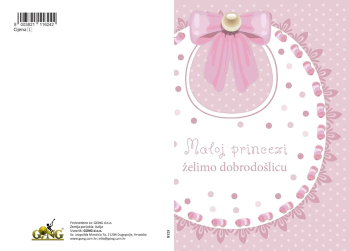 Picture of Čestitka - Maloj princezi
