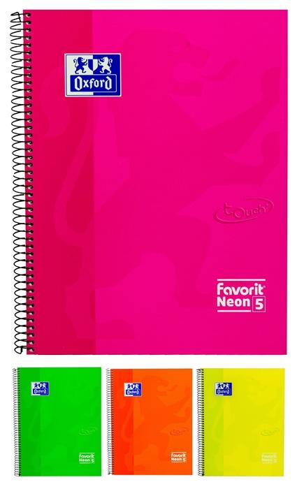 Slika od Spiralna bilježnica Neon - crte