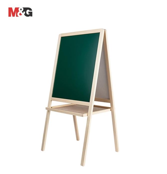 Picture of Bijelo/zelena ploča s drvenim okvirom 52x62cm