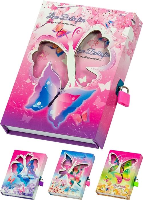 Slika od Butterflies dnevnik u poklon kutiji