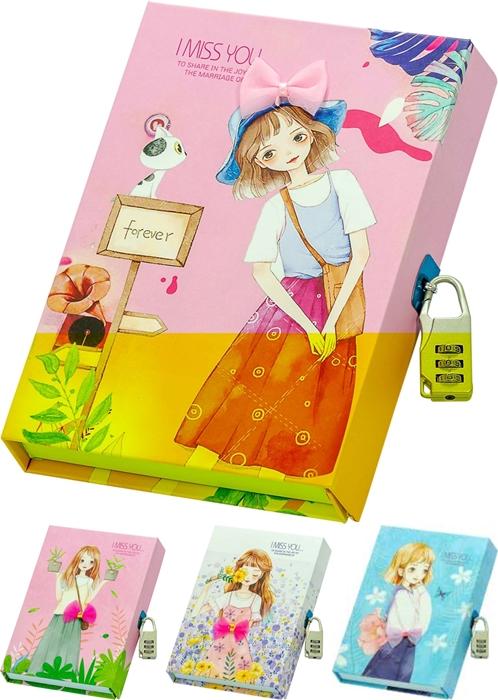 Slika od I miss you dnevnik u poklon kutiji