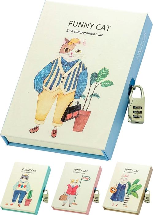 Slika od Funny Cat dnevnik u poklon kutiji