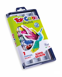 Slika od TOY COLOR tempera boje 12 ml 1/7
