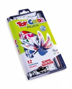 Slika od TOY COLOR tempera boje 12 ml - 1/12