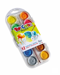 Picture of TOY COLOR watercolor 1-12 pearl effect