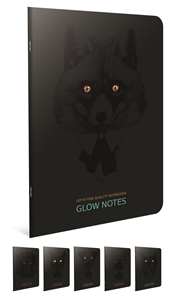 Picture of Bilježnica A4 Glow notes crte