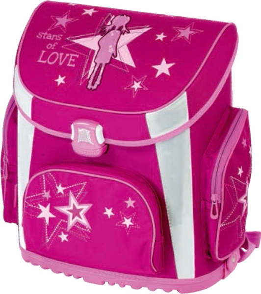 Picture of TIGER PRIME school bag love 36x23x39 cm