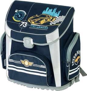 Picture of TIGER PRIME school bag car 36x23x39 cm