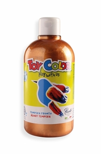 Slika od TOY COLOR tempera 500 ml bronca