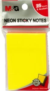 Slika od Samoljepljivi blokić NEON - 7,6x5,1cm