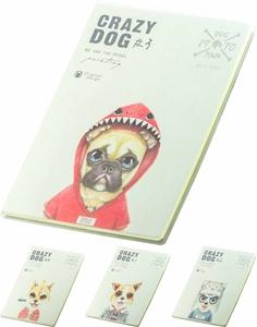 Picture of Crazy dog bilježnica B5 - crte