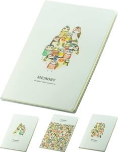 Picture of Memory notebook B5 - lines