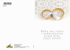 Slika od Čestitka - Vjenčanje
