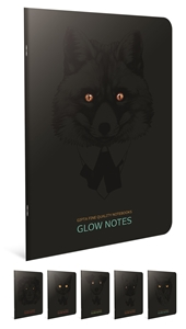 Picture of Bilježnica A4 Glow notes kocke