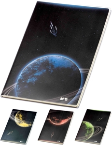 Picture of Planets notebook B5 - lines