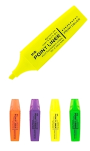 Picture of M&G FLUORESCENT MARKER Point liner with fragrant trail – exhibition stand 48 pie