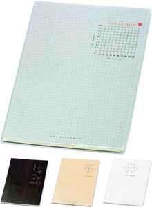 Picture of Love math notebook B5 - square