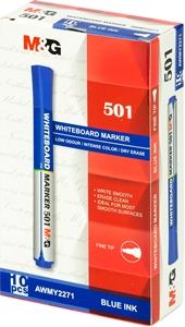 Picture of Marker za bijelu ploču M&G 501 - plavi