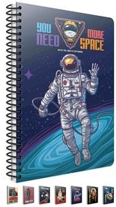 Picture of Spiralna bilježnica A4 Space kocke