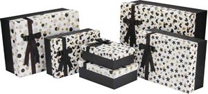 Slika od Set poklon kutija BLACK&WHITE&GOLD